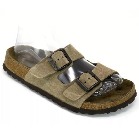 f0f48507a Birkenstock Shoes - Birkenstock Betula Arizona Suede 2 Strap Sandals